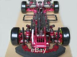 Alliage & Carbone 1/10 4wd Drift Racing Car Sakura D3 Cadre Corps Assemblé