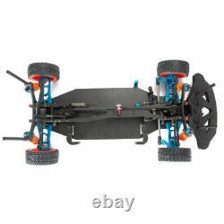 Alliage Carbone 1/10 4wd Drift Rc Racing Cadre Carrosserie Châssis Kit Arbre D'entraînement