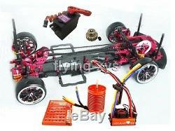 Alliage & Carbone 1/10 Sakura D3 Drift Racing Cadre Kit De Voiture & Skyrc Leopard 60a Combo