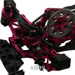 Alliage & Carbone Sakura D4 110 Awd 4 Roues Motrices Op Ep Rc Car Kit Frame Avec 4 Roues