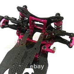 Alliage & Carbone Sakura D4 Rwd Drift Racing Car 1/10 Rc Car Frame Kit #kit-d4rwd