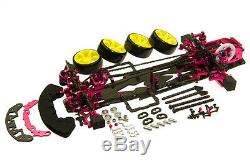 Alliage Et Carbone Rc 1/10 Drift Racing Kit De Cadre Pour Sakura D3 Cs 3r Op