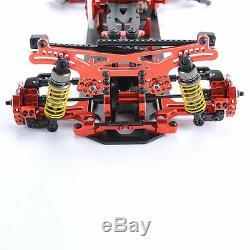Alliage Et Fibre De Carbone 110 Cadre G4 Et Accessoires Pour Modèle Réduit De Voiture Hsp Rc 4wd Rouge
