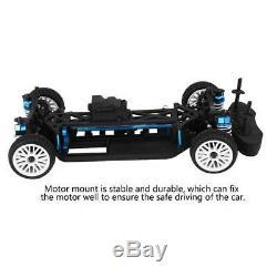 Aluminium Et Carbone 110 Cadre 4 × 4 Avant Moteur Rc Drift Car Kit Pour Zd Rc Car Pièces