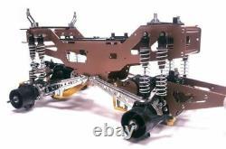 Amortisseurs D'huile D'aluminium Rc Car Avec Kit Châssis Pour Tamiya Clodbuster/bullhead