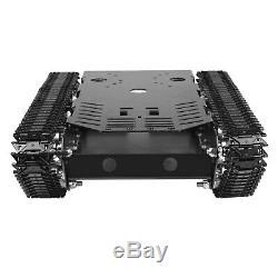 Arduino Raspberry Pi Robot Réservoir Plate-forme Chenillé Voiture Smart Châssis DC 12v Moteur