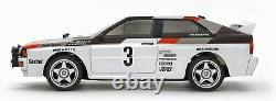 Audi Tamiya 1/10 Électrique Rc Car Series N ° 667 Quattro Rallye A2 Tt-02 Châssis