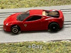 Aurora Afx Fray Le Style Ferrari 458 T Jet Sur Le Nouveau Châssis De La Voiture À Sous Wizjet Ho