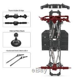 Austar De Châssis Empattement Frame Pour 1/10 Axial Scx10 II 90046 90047 Rc Voiture