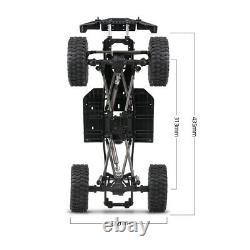 Austrar 313mm Châssis Châssis Avec Ciseaux Pour 1/10 Axial 90047 Rc Crawler Car