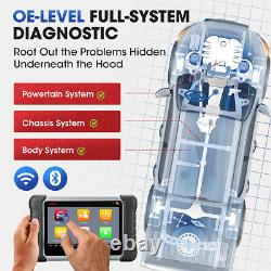 Autel Maxicom Mk808ts Bluetooth Obd2 Scanner Voiture Tpms Outil De Diagnostic Clé De Codage