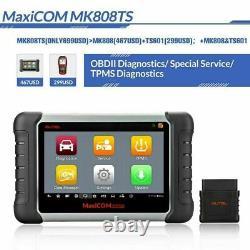 Autel Mk808ts Voiture Wifi Diagnostic Tool Tpms Programmation Obd2 Scanner Code Reader
