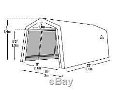 Automatique De Tente De Garage De Voiture En Acier De Voiture En Acier De Cadre De Carport En Métal D'abri De Stockage De Bateau Grande
