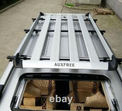 Auxfree Roof Rack Cross Bar Cadre De Porte Clamp Universal Pour Naked Roof Car Suv