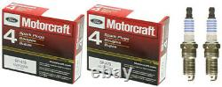 Bougie D'allumage De Moteur Platinum Motorcraft + Bobine D'allumage Haute Performance Pour Ford
