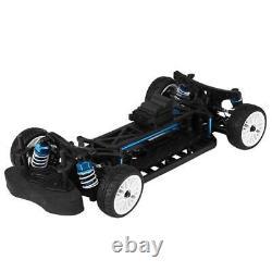 Cadre Aluminium-carbone 110 4wd Front Motor Rc Drift Car Kit Pour Zd Rc Drift Car