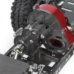 Cadre Cnc Carbone Métal 313mm Corps Pour 1/10 Rc Crawler Voitures Axial Scx10 Accessoires