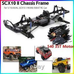 Cadre De Châssis D'empattement Pour 1/10 Axial Scx10 II 90046 Rc Crawler Car Diy Q7l6