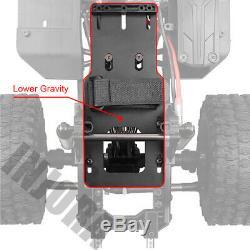 Cadre De Châssis De La Voiture 110 Pour Chenille Axiale Scx10 90046 Rc Avec Pneu De Jante