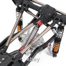 Cadre De Châssis En Métal De 313mm Pour 1/10 Rc Crawler Car Axial Scx10 II 90046