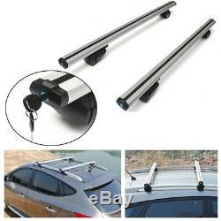 Cadre De Fenêtre De Support De Barre Transversale De Toit De Voiture En Aluminium De Porte-bagages Supérieur En Aluminium 48