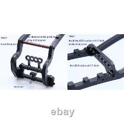 Cadre De Protection De Coquille De Corps En Métal Pour 1/10 Traxxas Maxx Rc Crawler Car Roll Cage