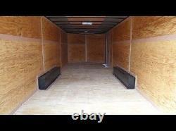 Cadre De Tube De Transport De Voiture Fermé 8.5x24 V Nez, Couleur