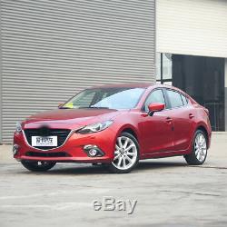 Capot De Châssis De Machine De Capots De Couverture De Moteur De Voiture En Fibre De Carbone Pour Mazda 3 Axela 2014