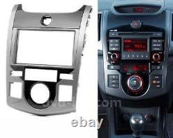 Car Radio Fascia Stereo Cadre Facias Pour Kia Cerato / Forte Koup Dash Bezel Kit