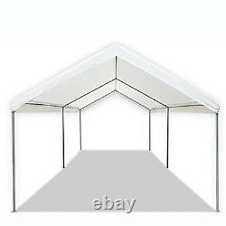 Carport Canopy Garage Tente Couvercle En Acier Cadre Portable Parking Car Shed Shelter