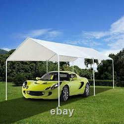 Carport Canopy Tente Cadre Shelter Car Boat Camion Garage Rangement Shade Metal Big