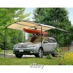 Carports Métal Auvent Kits Canopy Garage Cadre En Acier Voiture 9 X 16 Tente Couverture De Bateau