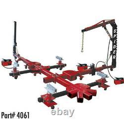 Champ Spider 10 Tonnes Portable Car Frame Machine Avec 2 Posts & Overhead Boom 4061