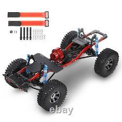 Châssis 313mm Rc Crawler Car Frame Avec Roue Pour 1/10 Axial Scx10 II 90046 Us L9u0