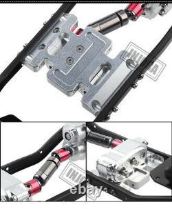 Châssis 313mm Wheelbase Car Body Frame Pour 1/10 Rc Axial Scx10 & Scx10 II 90046