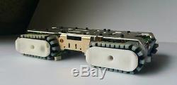 Chassis Arduino Tank Metal Robot Ceinture Anti-dérapante En Caoutchouc Piste Voiture Rc