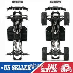 Châssis D'empattement Cadre Pour 1/10 Axial Scx10 II 90046 Rc Crawler Car Diy Us Z1m5