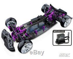 Châssis De Voiture De Drift Arr (violet) 532124 Fedex Gratuit, Ems-mst Rmx-d Vip 1/10 2rm