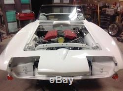 Châssis Roulant Pour Voiture De Projet Resto-mod Corvette Personnalisé, 1963-67