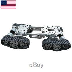 Corps En Alliage Wzy569 4 En Alliage Cnc De Châssis De Robot De Camion De Camion De Wagon-citerne D'intelligence