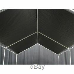 Couverture De Tente De Bateau De Pare-soleil De Voiture De Pare-soleil De Garage De Bâtis D'auvent De Garage De Trames En Acier De Garage