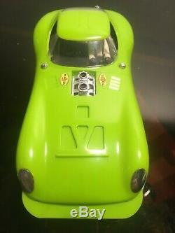 Cox Cheetahracha Iso-fulcrum Châssis 16d Citron Vert Voiture Fente Vintage 1/24