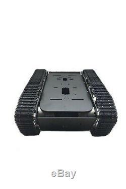 Diy A-13 Smart Rc Robot Châssis De Voiture En Aluminium En Plastique Chenille Ceinture Chenille Réservoir À Chenilles