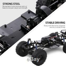 Empattement Cadre Assemblé Châssis Pour 1/10 Rc Crawler Voiture Scx10 Scx10 II 90046