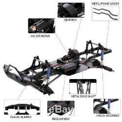 Empattement Cadre Châssis 1/10 Axial Scx10 II 90046 Rc Crawler Voiture Diy Us E6u0