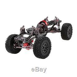 En Alliage D'aluminium Rc Rock Crawler Cadre De Châssis Kit Pour 1/10 Axial Scx10 4 Roues Motrices Voiture