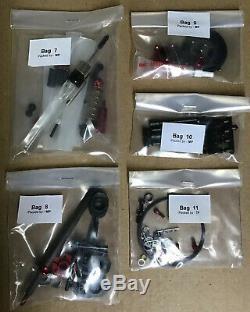 Équipe Crc Tapis Knife Génération X 1/12 R / C Kit De Voiture Châssis Uniquement 3200 Nouveau