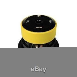 Esx Qe622 16 CM 6 Subwoofer Basse Auto Auto Kfz Sub Lautsprecher 500 Watt Max