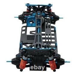 Etats-unis 1/10 Rc Alloy & Metal Shaft Drive 4wd Touring Car Frame Kit Pour Tamiya Tt01