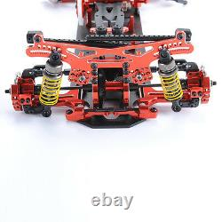G4 Alloy Metal & Carbon Frame Body Chassis Kit For Rc 110 Rc Drift Racing Car 4x4